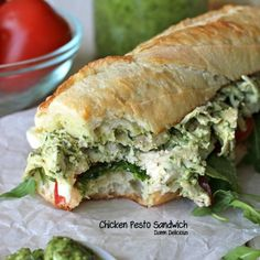 Chicken Pesto Sandwich Recipe - ZipList