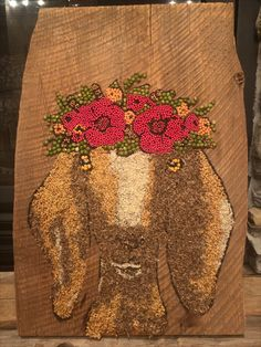 STAFF PICK: TOP 10 PICK! (Class 2 - Amateur) Thanks to this crop art entry from Dia T. of Shafer, Minn. Minnesota State Fair, Day