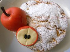Apple pie with a sugar paste decoration!