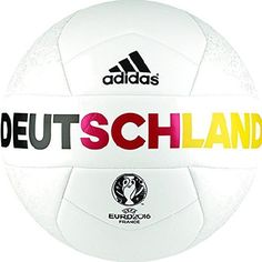 Show off your skills and your Germany support with this great soccer ball!