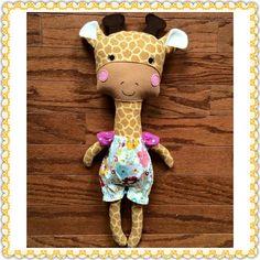 Handmade by Karin - using a DollsAndDaydreams.com sewing pattern