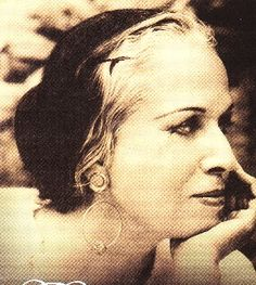 Amalia Hernandez, the founder of the Ballet Folklorico de Mexico :)