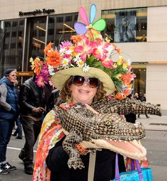 Outrageous Hats from the Easter Bonnet Parade