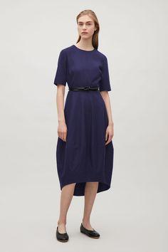zeeblauwe jurk