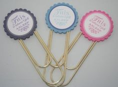 Altered paper clips.