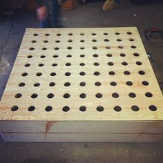Alex and Cody's studio construction, perf-board helmholtz resonators #acoustics #diyacoustics #helmholtz