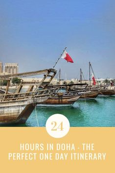 One day in Doha – the perfect 24 hours in Doha Travel With Kids, Family Travel, Qatar Travel, Travel Guides, Travel Tips, Travel Advice, Family World, Asia Travel, Eastern Travel
