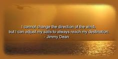 A little wisdom from Jimmy Dean - sausage anyone?