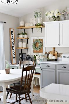 Camelot Art Creations: 5 Tips To Creating A Farmhouse Kitchen