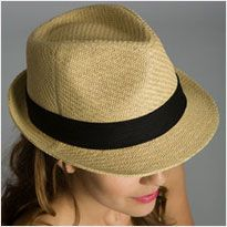 I hope this is the year of the fedora... such a stylish hat on men and women!