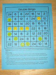I Love 2 Teach: Double Bingo {FREEBIE}