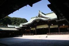 Meiji Shrine (Meiji Jingu), located in Shibuya, Tokyo, is the Shinto shrine that is dedicated to the deified spirits of Emperor Meiji and his wife, Empress Shoken.