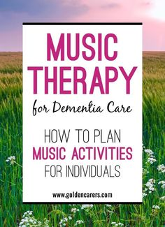 Everyone responds instinctively to music. A person's ability to engage in music often remains intact far into the advanced stages of dementia. Music triggers certain networks of the brain that benefit people suffering from difficulties with language, cogn Music Therapy Activities, Nursing Home Activities, Elderly Activities, Senior Activities, Spring Activities, Stem Activities, Physical Activities, Elderly Crafts, Cognitive Activities