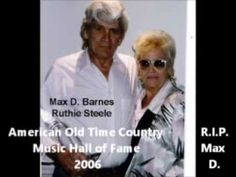 6 co written songs by Brother and Sister Songwriters Max D. Barnes and Ruthie (Barnes) Steele.