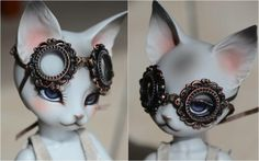 Steampunk ladies goggles