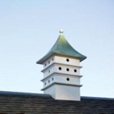 Put a Cupola on your roof!  From www.wellappointedhouse.com