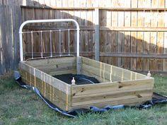 Make a flower bed !