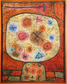 Discover Flowers in Stone by famous artist, Paul Klee. Framed and unframed Paul Klee prints, posters and stretched canvases.