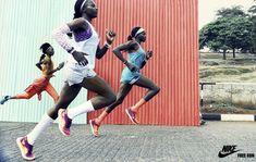 Julia Noni Captures Kenya's Elite Runners in Nairobi For Nike.