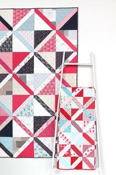 Crossweave Precuts-friendly Quilt Pattern