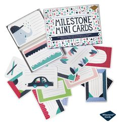 Perfect gift for kids and parents: Milestone™ Mini Cards http://www.milestonecards.com/milestone-mini-cards/