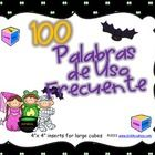 Cien Palabras de Uso Frecuente with a Halloween flavor.   Add a little celebration to your sight word center activities. Students will enjoy rollin...
