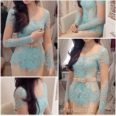 #Design #Kebaya #Blue