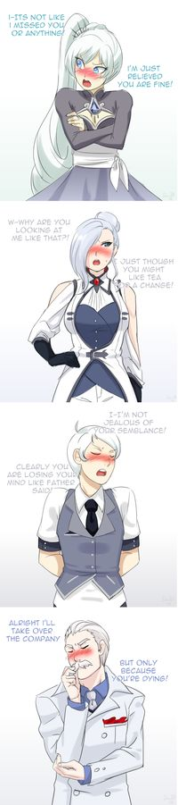 Browse the best of our 'RWBY' image gallery and vote for your favorite! Rwby Anime, Rwby Fanart, Yandere, Manga Art, Anime Art, Rwby Memes, Rwby Red, Rwby Characters, Rwby Comic