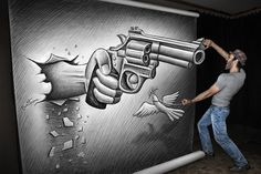 New Large-Scale 3D Drawings by Ben Heine Posted by Pinar on October 9, 2013 at 10:00am View Blog  Belgian artist Ben Heine has gained recognition for his Pencil Vs Camera series, in which the clever illustrator superimposes a drawing on a sheet of torn paper over a real-life background. As a continuation of the series, Heine has recently ventured into new territory that allows him to enter his drawings, thereby reversing the components of his work that are drawn illusions and real-life…