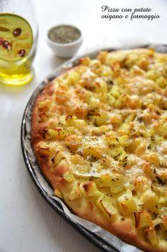 Almond Paste Cookies, Pizza Vegetariana, Pizza E Pasta, I Love Food, Good Food, Pizza Rustica, Best Italian Recipes, Salty Cake, Happy Foods