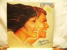 Amazing CARPENTERS Vinyl Record Made in America by oldmagicchest