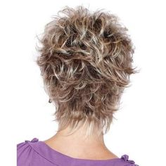 KAMI 005 Affordable Razored-Top Women Short Wavy Layered Pixie Wig for Ladies Short Hair With Layers, Short Wavy, Short Hair Cuts For Women, Short Hair Styles, Wavy Pixie, Short Shag Hairstyles, Short Layered Haircuts, Hair Pieces, Hair Beauty