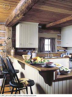 Love the wood ceilings...