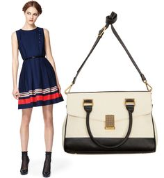 Jason Wu for Target - Poplin Dress and Satchel.