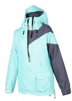 snowboarding jacket: