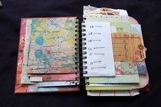 Love the Layered Look of this Planner!