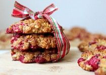 Rybízové sušenky s ovesnými vločkami Krispie Treats, Rice Krispies, Crackers, Muffin, Cookies, Breakfast, Healthy, Desserts, Food