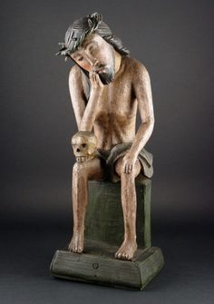 Jesus Christ Images, Sacred Art, Religion, Folk, Sculptures, Objects, Polish, Statue, Board