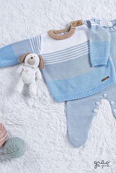 Baby Boy Outfits, Kids Outfits, Mermaid Halloween Costumes, Knit Baby Sweaters, Baby Knitting Patterns, Baby Dress, Crochet, Baby Design, Baby Kids