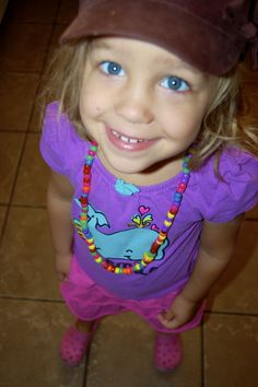 Make bead necklaces! My son loved this just as much as my daughter. (or pasta necklaces, tho ours always break.) And twice we've made fruit loop necklaces to bring and eat during church.