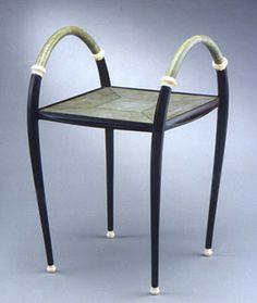 Ebony, sharkskin, and ivory table (circa 1924) by Clement Rousseau (1872–1950) -  The Metropolitan Museum of Art, New York