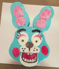 FNAF Toy Bonnie birthday cake