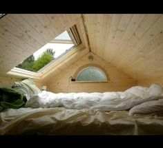 Would love to have a skylight above especially when it rains