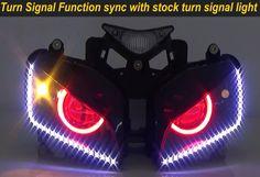 Honda CBR 1000RR 2004-2007 Custom Headlight  55W 8000K, red angel eyes, red demon eyes  http://www.ktmotorcycle.com/custom-headlights/honda-custom-headlights/honda-cbr1000rr/honda-1000rr-2004-2007.html