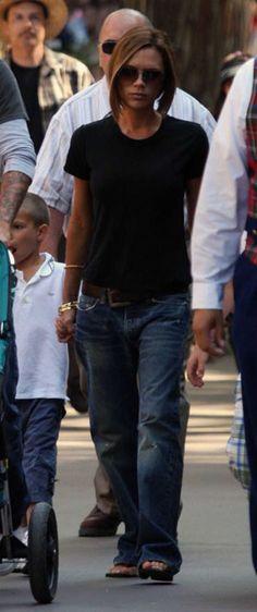 Victoria Beckham Boyfriend Jeans | victoria beckham in the boyfriend jean