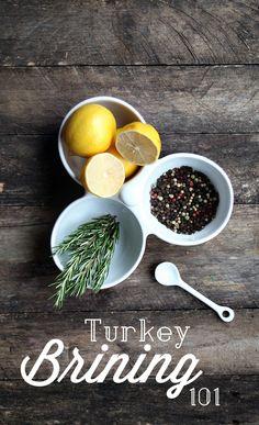 Turkey Brining 101//