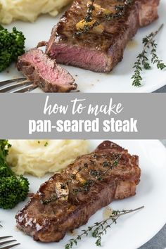 Steak Recipes Pan, Meat Recipes, Food Processor Recipes, Cooking Recipes, Fodmap Recipes, Grilling Recipes, Delicious Recipes, Recipies, Dinner Recipes