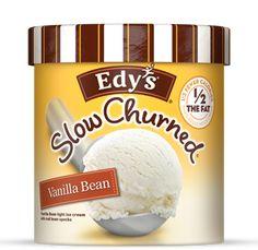 Edy's Slow Churned Vanilla Bean Ice Cream