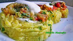 Patates Çanağında Közlenmiş Patlıcan Salatası Nasıl Yapılır