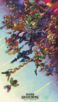 Super Smash Bros Brawl, Super Smash Bros Characters, Nintendo Super Smash Bros, Nintendo Characters, Video Game Characters, Super Mario Bros, Best Gaming Wallpapers, Animes Wallpapers, Super Smash Ultimate